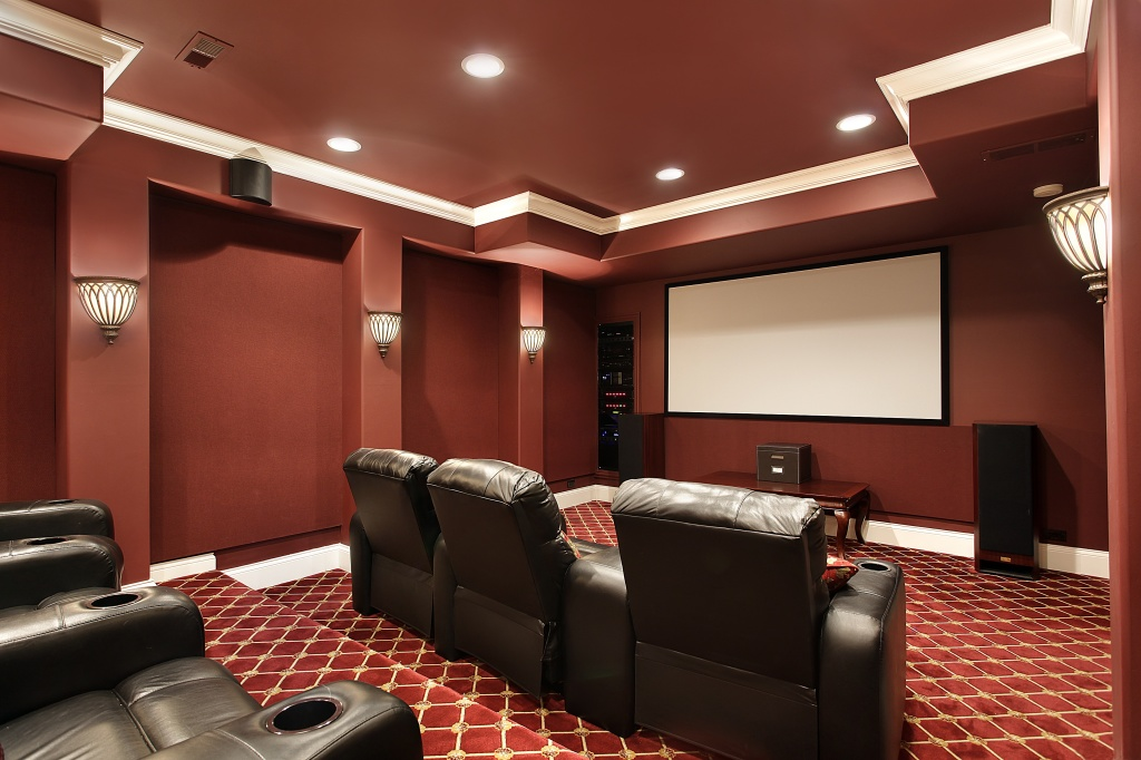 home theater system designed and installed