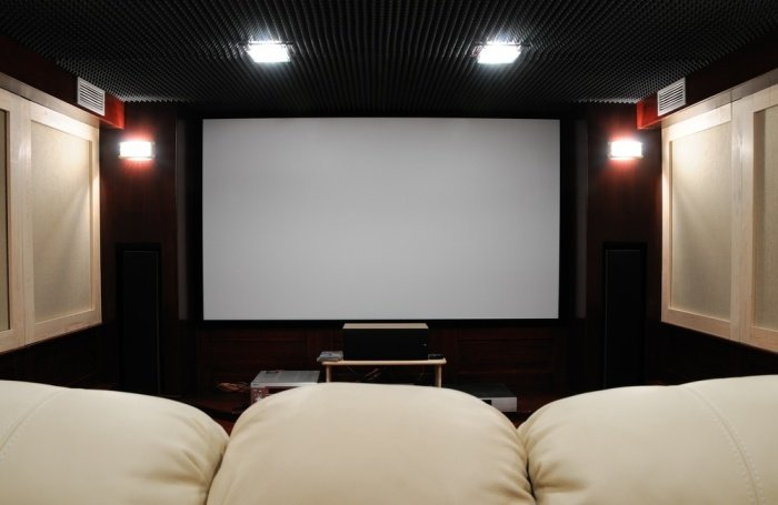 A Home Theater Design Can Be Very Versatile, And People Decide To Put Their  Home Entertainment System In Odd Shaped Rooms, Open Lofts, And Even Living  Areas ...