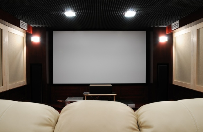 Home Theater Room Houston