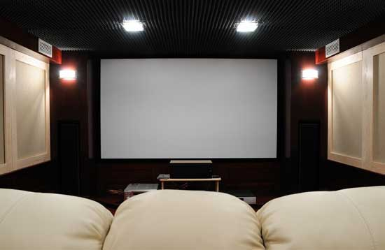 The Heights Home Theater Installation, Systems | Home Automation The Heights TX