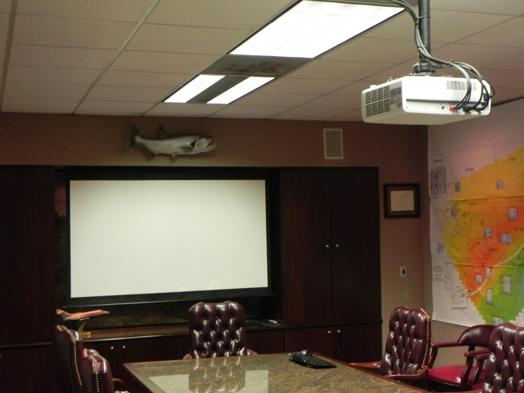 Commercial Office Projector Installation Houston, TX