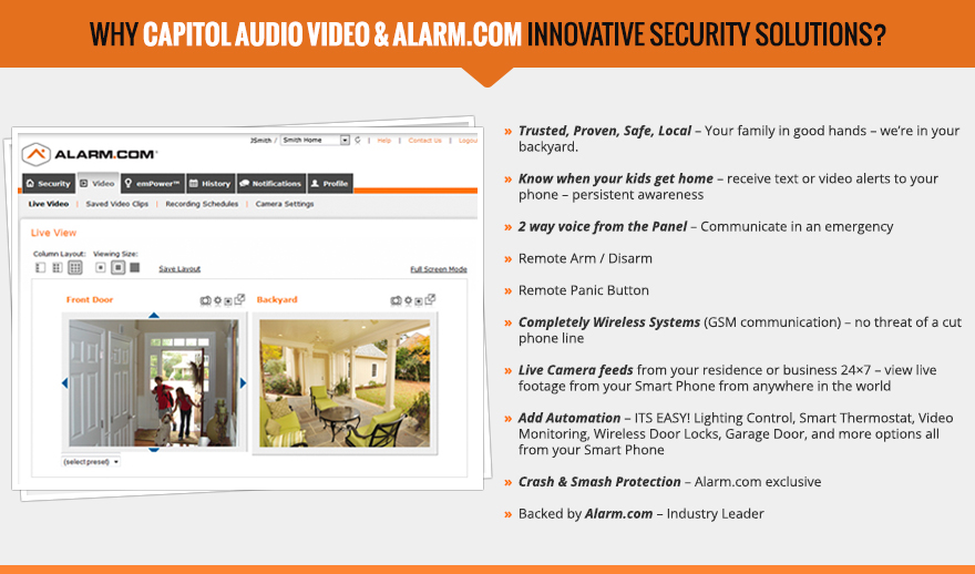 houston home security automation system